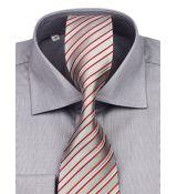 c95d8d992b40 Luxusná biznis košeľa na manžetové gombíky KLEMON (slim)